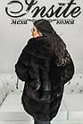 Норковое Автоледи Черное 80см 80/125 0548ЕИШ, фото 8