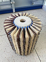 Щеточный  вал для  объемного шлифования / Щітковий вал для обємного шліфування, фото 1