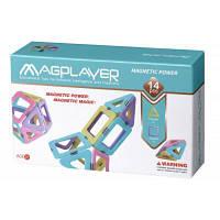 Конструктор Magplayer магнитный набор 14 эл (MPH2-14)