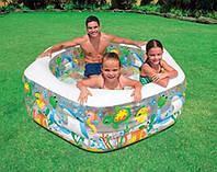 Детский Надувной бассейн «Океанский риф» INTEX (56493) 193х178х61 см., фото 1