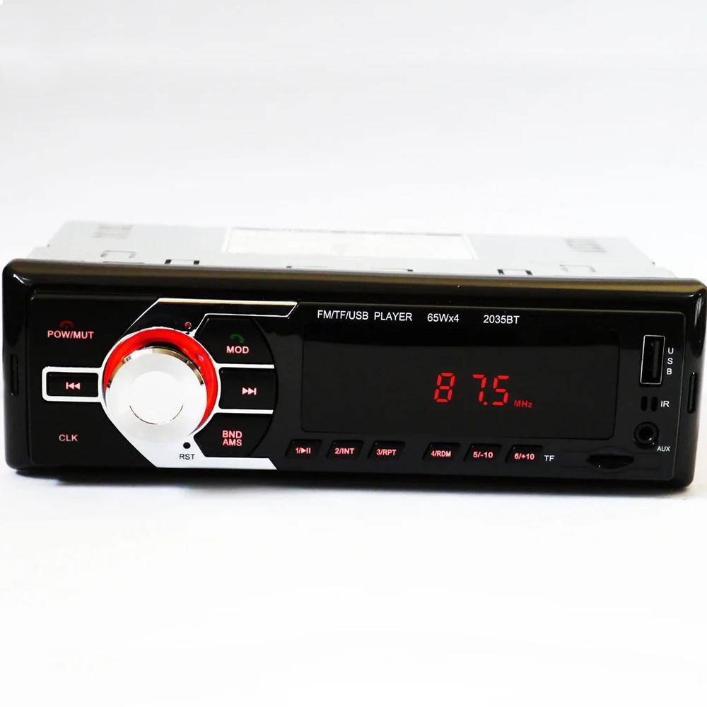 Автомагнитола MP3 2035 BT ISO+BT + ПОДАРОК: Настенный Фонарик с регулятором BL-8772A
