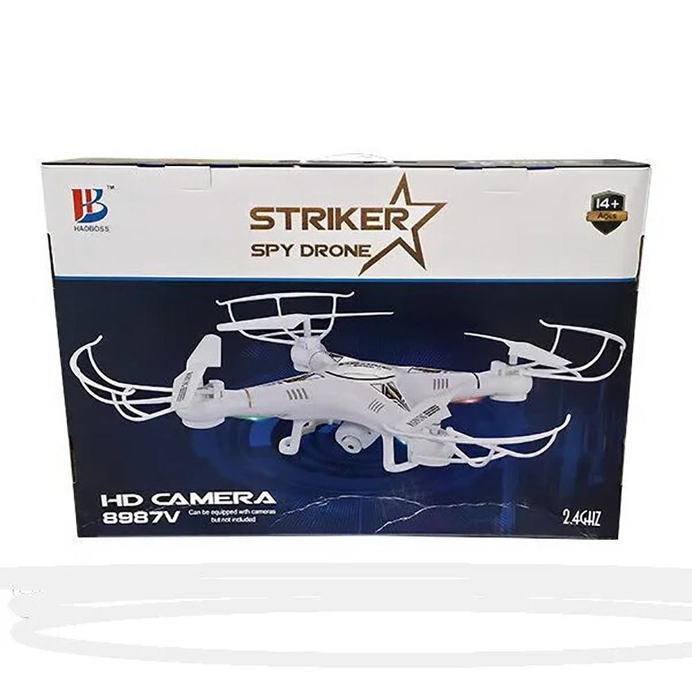 Квадрокоптер Striker Spy Drone 8987 c HD камера + ПОДАРОК: Настенный Фонарик с регулятором BL-8772A