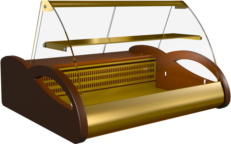 Настольная витрина ВХС 1,0 Арго Люкс