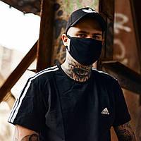 Футболка Adidas черная, фото 1