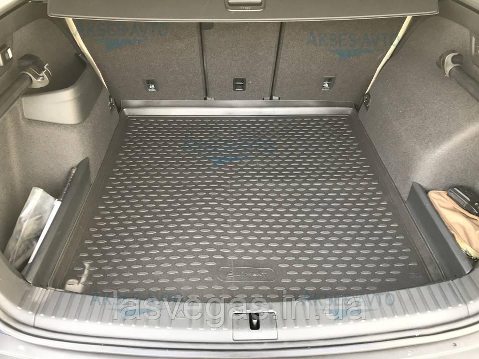 Коврик в багажник  SKODA Kodiaq 2017- Кросс. 1 шт. (полиуретан)