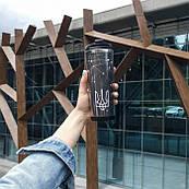 Термокружка ZIZ с рисунком Герб, термос, термостакан с крышкой, термочашка непроливайка 380 мл