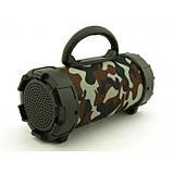 Портативная bluetooth MP3 колонка SPS F18 Камуфляж, фото 2
