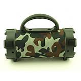 Портативная bluetooth MP3 колонка SPS F18 Камуфляж, фото 3