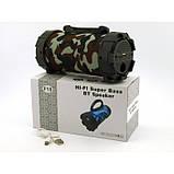 Портативная bluetooth MP3 колонка SPS F18 Камуфляж, фото 8