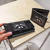 Кошелек ZIZ с изображением ( картинкой )Енот прямоугольный