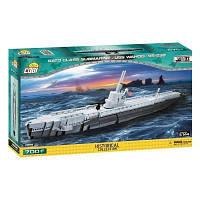 Конструктор Cobi Подводная лодка Ваху (SS-238), 700 деталей (COBI-4806)