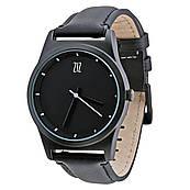 Часы ZIZ Black на кожаном ремешке + доп. ремешок + подарочная коробка (4100141)