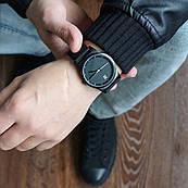 Часы ZIZ Black унисекс на силиконовом ремешке + доп. ремешок + подарочная коробка (4100144)