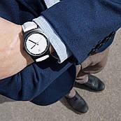 Годинник ZIZ White на шкіряному ремінці + дод. ремінець + подарункова коробка (4100242)