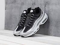 Мужские модные кроссовки Nike Air Max 95 Silver Black