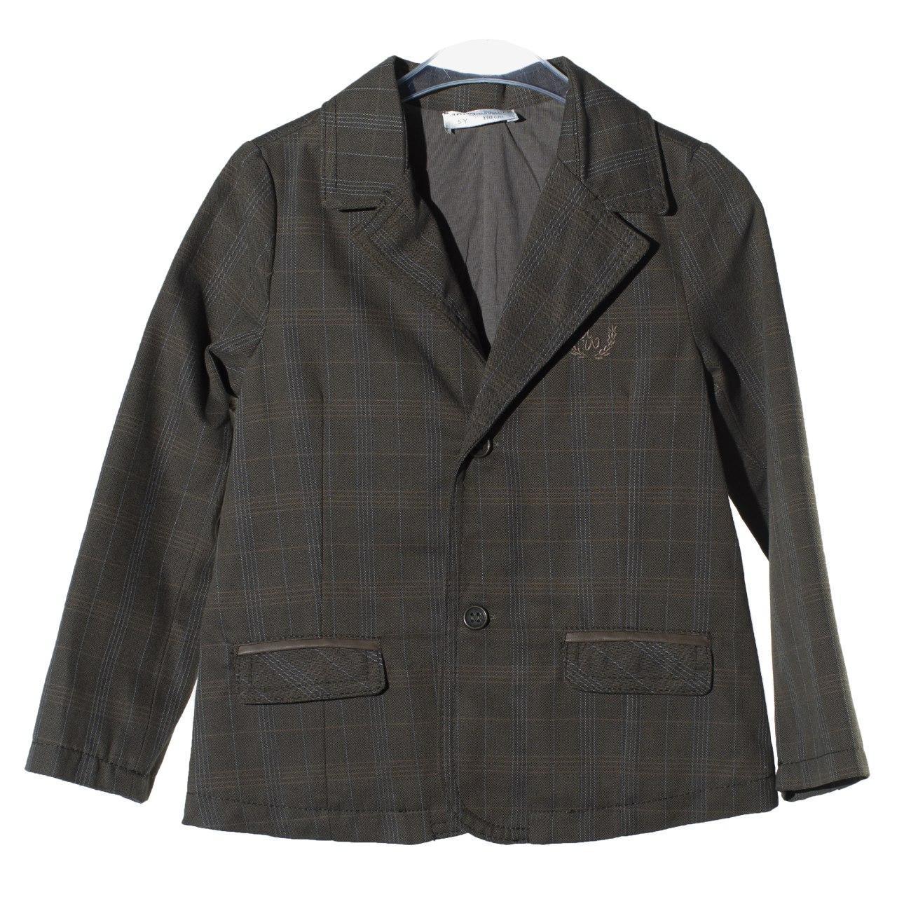 Утепленный пиджак для мальчика, размеры 3 года, 4, 5, 6, 7, 8 лет