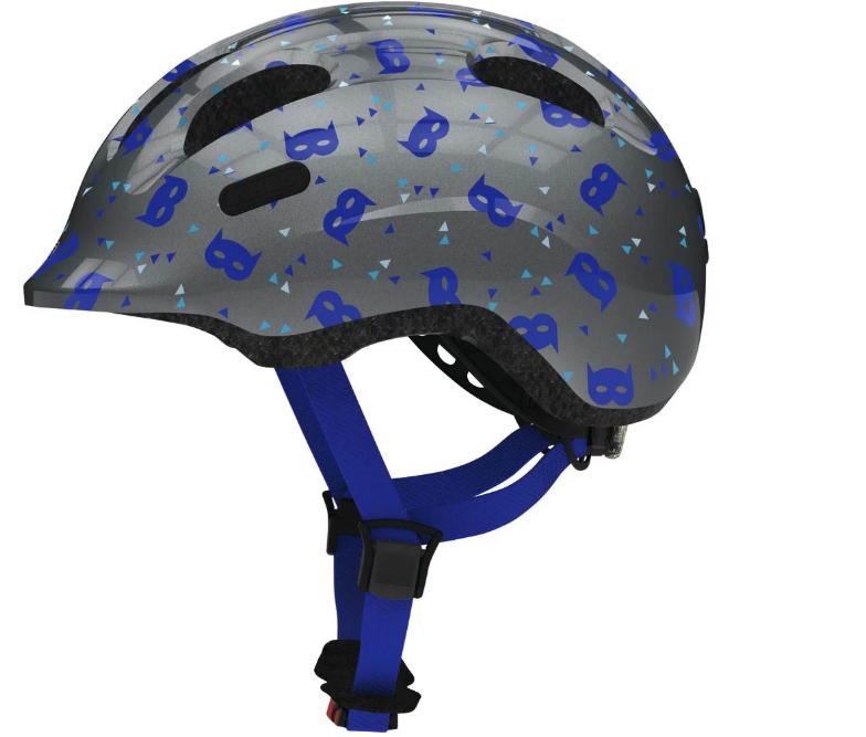 Велосипедный детский шлем ABUS SMILEY 2.1 S 45-50 Blue Mask