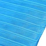 Анти москитная сетка штора на магнитах Magic Mesh Голубая, фото 2