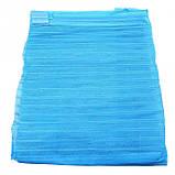 Анти москитная сетка штора на магнитах Magic Mesh Голубая, фото 3