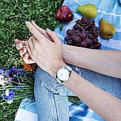 Часы ZIZ Минимализм (ремешок нежно - голубой, серебро) + дополнительный ремешок