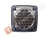 Фонарь задний квадратный диодный белый LED для грузовиков (пр-во CERAY) Турция