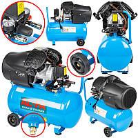 Компрессор AL-FA ALC-50V : 2.8 кВт - 50 л. | 2-поршневой
