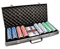 Покерный набор в алюминиевом кейсе  — купить покерный набор