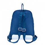Дорожная сумка рюкзак City backpack Lacoste 3009 синий, фото 4