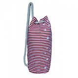 Пляжный рюкзачок Anchor Stars 106 Размер 42x45 Красный, фото 2