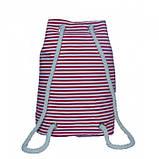 Пляжный рюкзачок Anchor Stars 106 Размер 42x45 Красный, фото 3