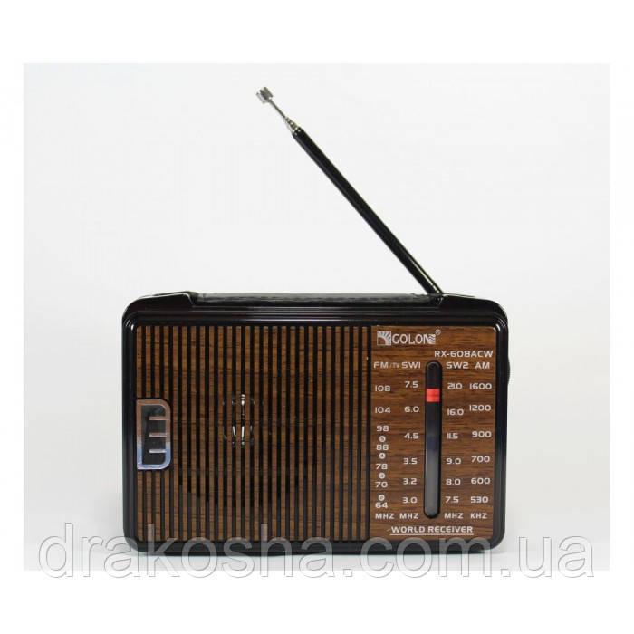 Портативный радио приемник GOLON RX-608ACW