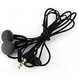 Наушники гарнитура AWEI ES12i с микрофоном Чёрные, фото 2