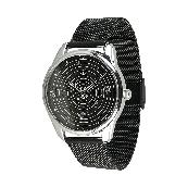 Часы ZIZ Планеты (ремешок из нержавеющей стали черный) + дополнительный ремешок