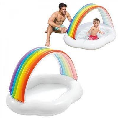 """Надувной бассейн для малышей """"Радужное облако"""" новинка этого года!"""