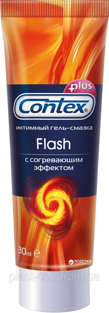 Інтимний гель-змазка Contex Flash 30 мл.