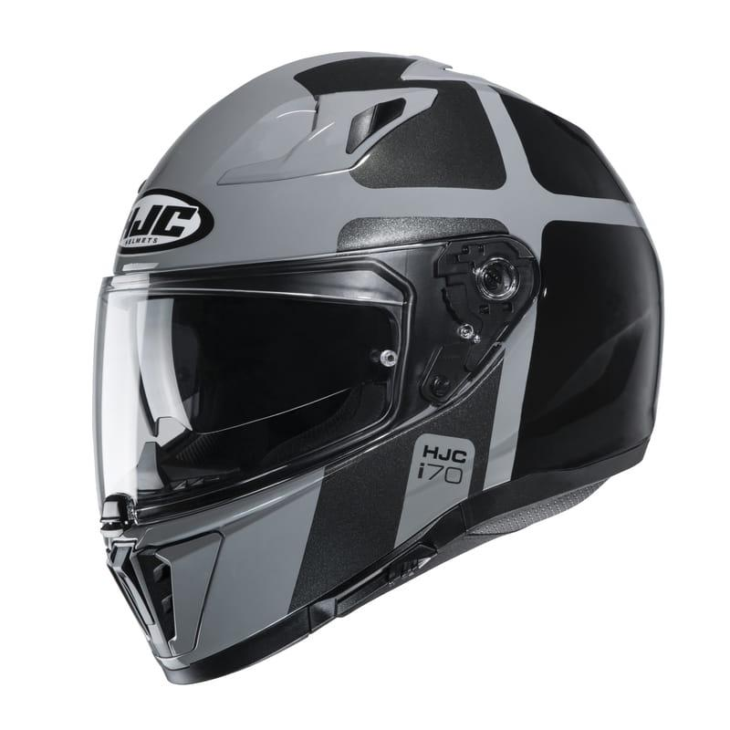 Мотошлем HJC i70 Prika Black/Grey