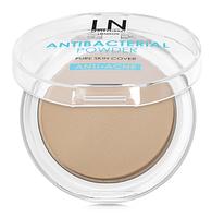 Пудра антибактериальная для лица Antibacterial Powder LN Professional 201
