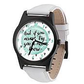 Годинник ZIZ Never try - never know + дод. ремінець + подарункова коробка