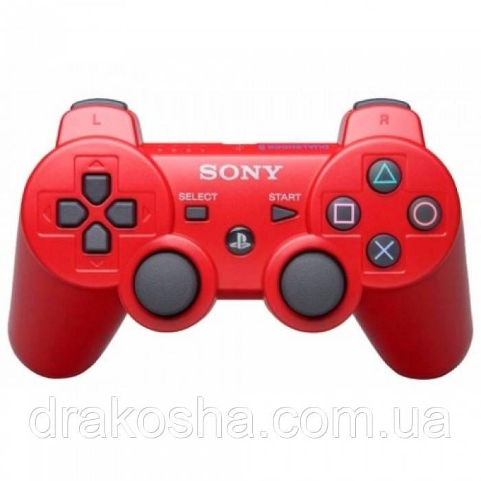 Беспроводной Джойстик Sony Геймпад PS3 для Sony PlayStation PS Красный