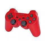 Беспроводной Джойстик Sony Геймпад PS3 для Sony PlayStation PS Красный, фото 2