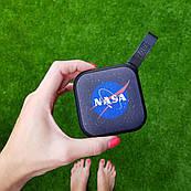 Портативная Bluetooth колонка ZIZ НАСА, переносная блютуз колонка, беспроводная блютус акустика