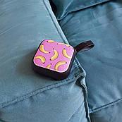 Портативная Bluetooth колонка ZIZ Бананы, переносная блютуз колонка, беспроводная блютус акустика