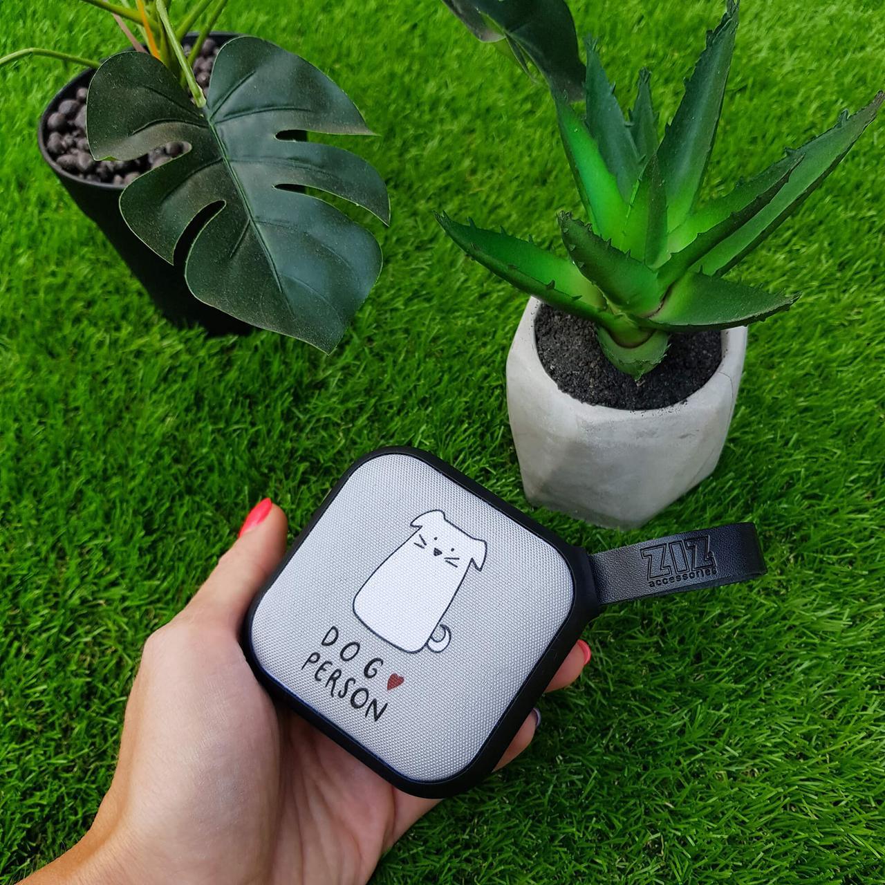 Портативная Bluetooth колонка ZIZ Я собачник, переносная блютуз колонка беспроводная блютус акустика