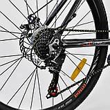Велосипед спортивний Corso Eхtreme 26 дюймів одноподвес, фото 5