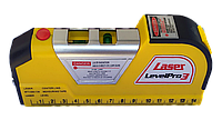"""Рівень лазерний з рулеткою """"LevelPro 3"""""""