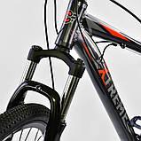 Велосипед спортивний Corso Eхtreme 26 дюймів одноподвес, фото 2