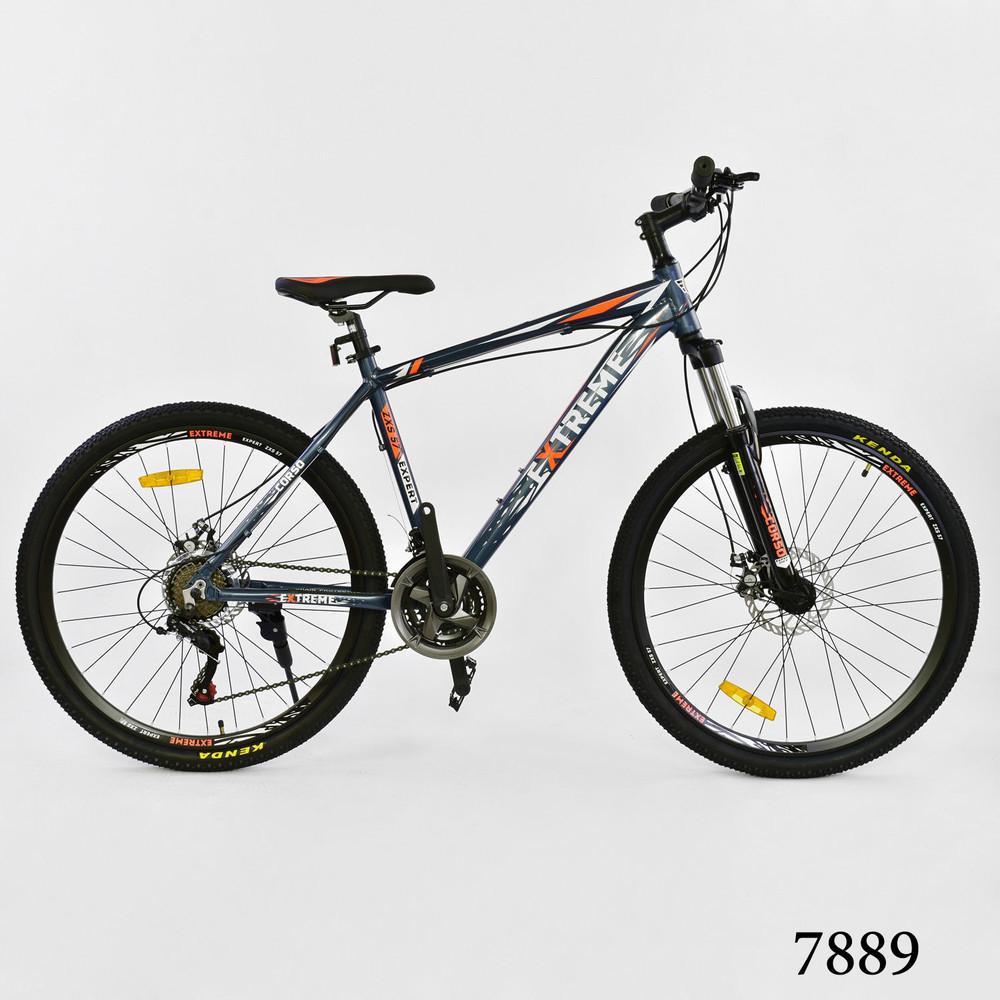 Велосипед спортивний Corso Eхtreme 26 дюймів одноподвес
