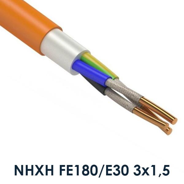 Вогнестійкий кабель NHXH FE180/E30 3х1,5