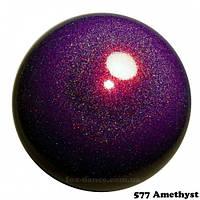 Мяч гимнастический юниорский 17см Chacott цвет 577 Amethyst