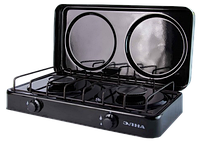 ЭЛНА ПГ2 -Н Газовая плита двухконфорочная с крышкой